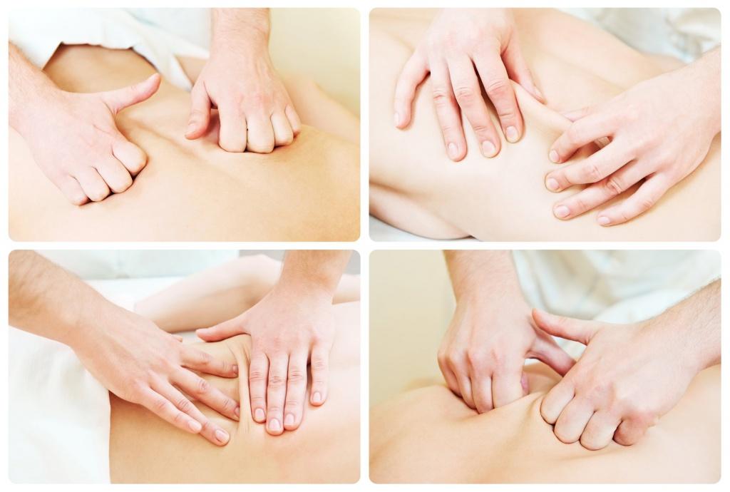 Основы массажа с картинками