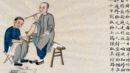 История зарождения болезней ног